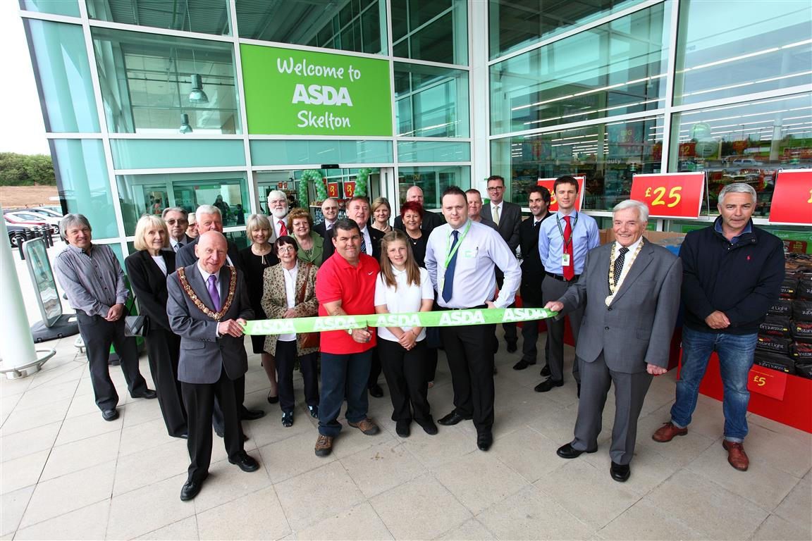 Opening Ceremony for New Asda Store