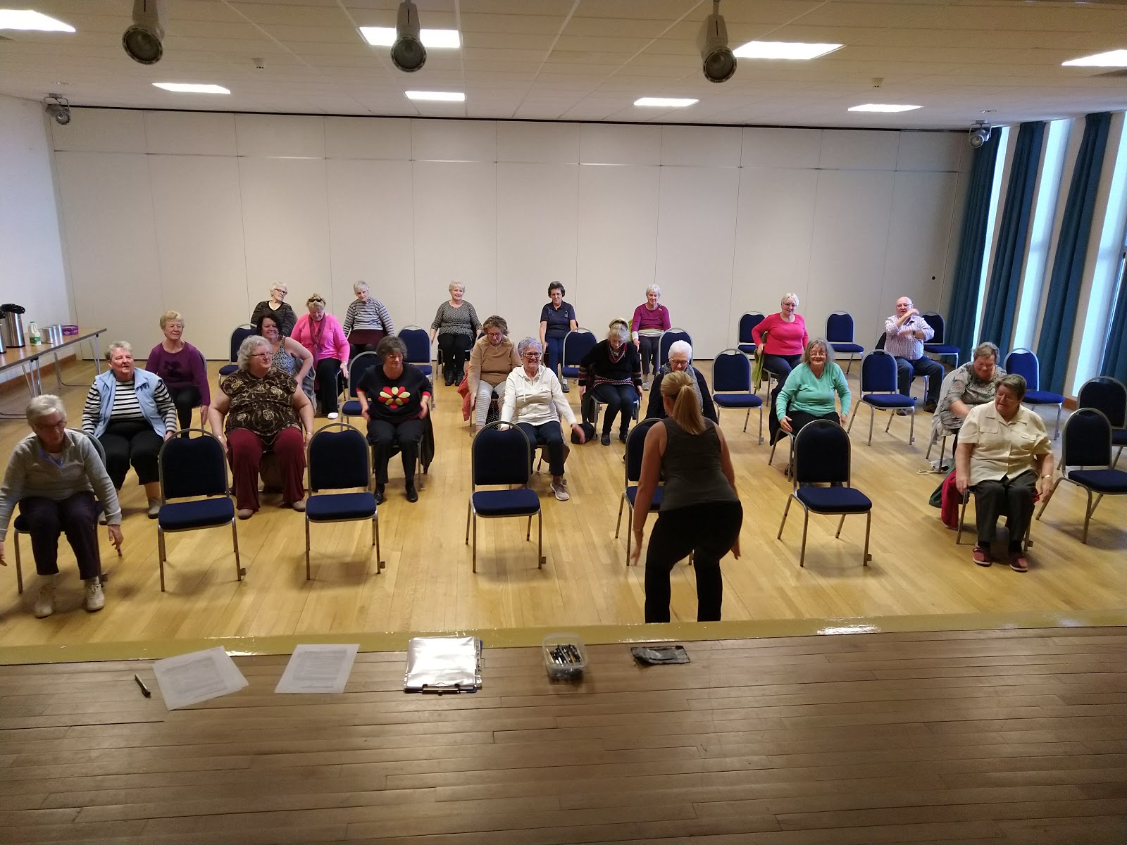 Seated Fitness Classes are Dementia Friendly