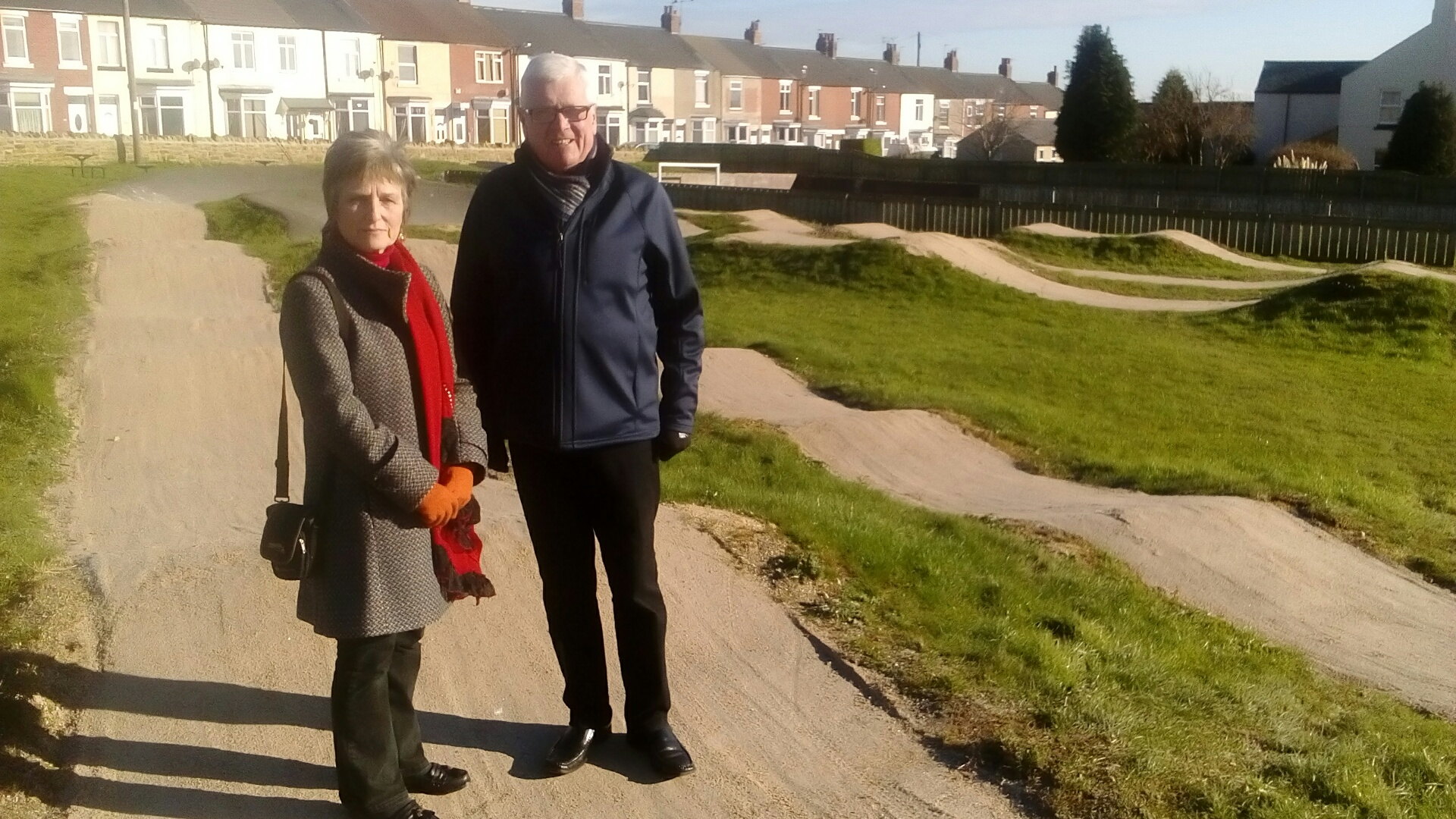 New Surface for Skelton Green Wheelie Area
